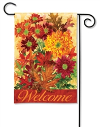 Autumn Bouquet Breezeart Decorative Garden Flag