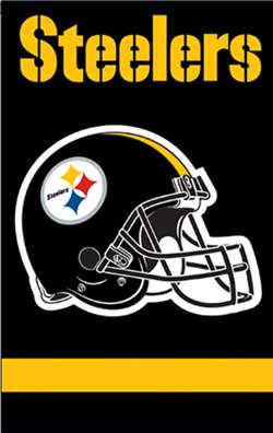 aa9a684b999 Pittsburgh Steelers Football Flag